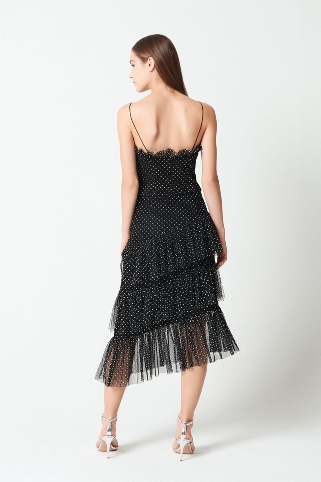 TULLE FRILL TOP