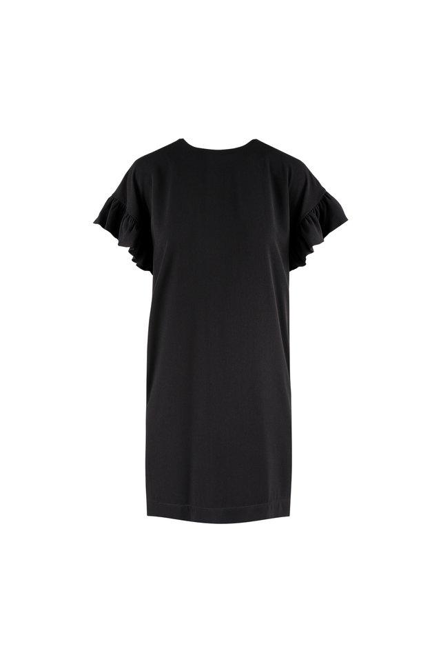 FLUTTER SLEEVE DRESS