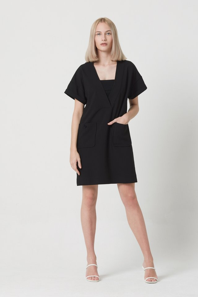DRESS WITH INNER TOP