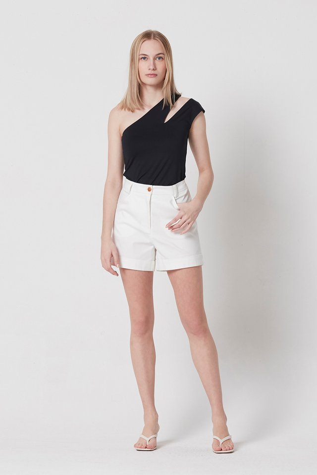 ASYMMETRIC CUT OUT TOP